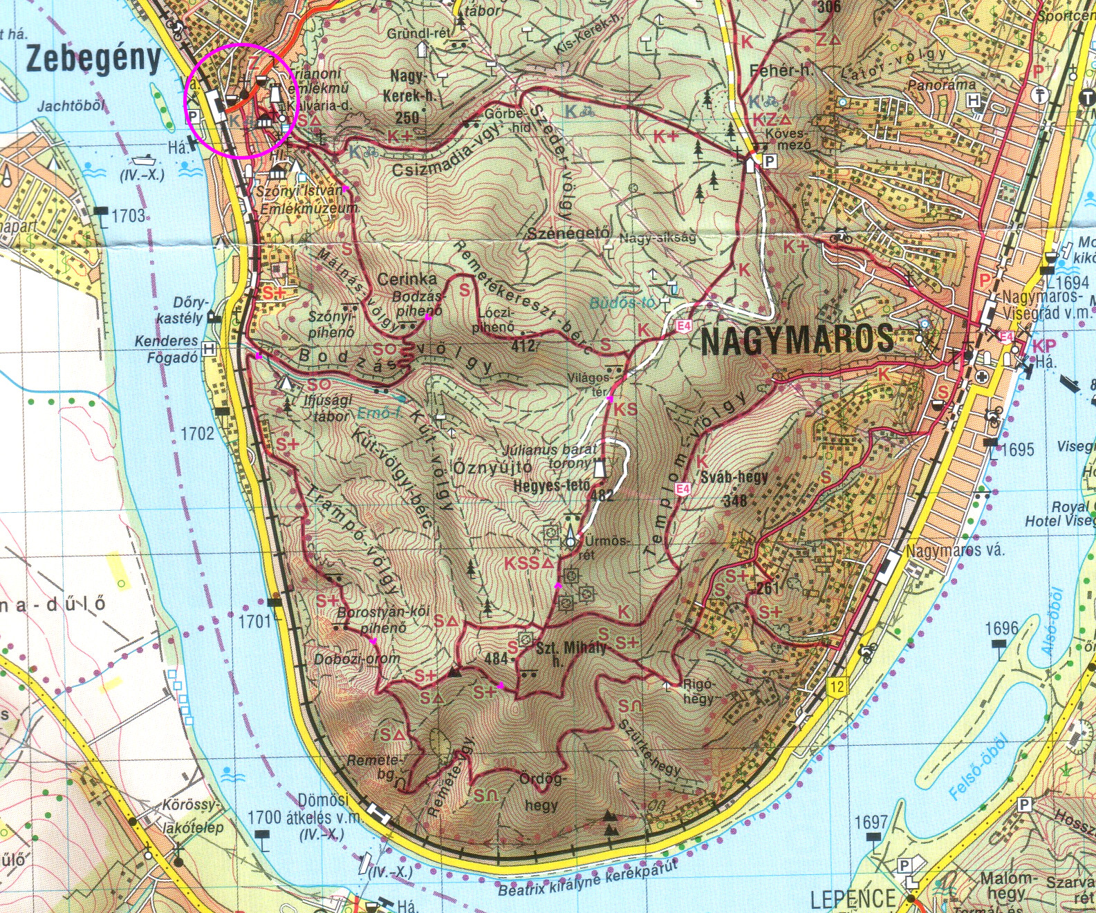 nagymaros térkép Térképek | Túrabot nagymaros térkép