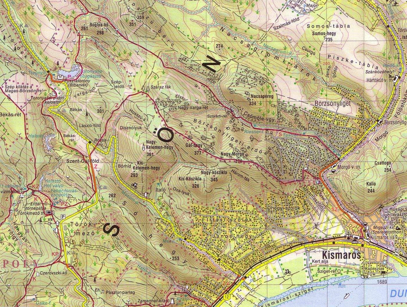 kismaros térkép Térképek | Túrabot kismaros térkép